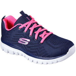 Graceful Get Connected Damen Trainingssneaker, Navy/Hot Pink