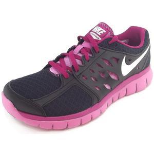 Flex 2013 Run Women Damen Laufschuhe, black/violet