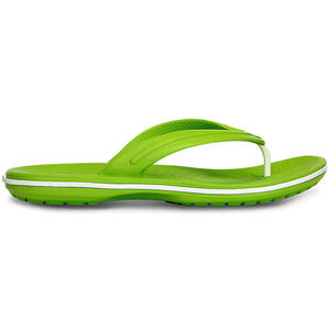 Crocband Flip Damen Zehenstegsandale, volt green/white