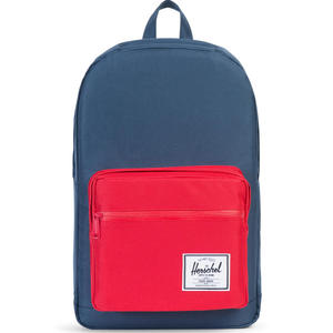 Pop Quiz Unisex Rucksack, blau/rot (navy/red)