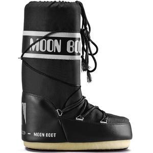 Nylon Unisex Moonboots, schwarz