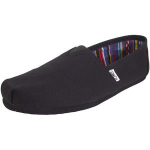 Classic Canvas Mn Herren Espadrilles, schwarz (black on black)
