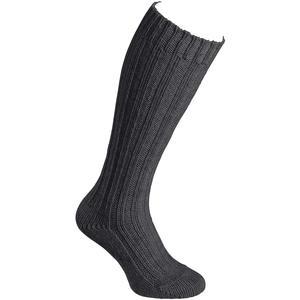 Alpaka Stutzen Dick Unisex Woll-Socken, anthrazit