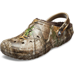 Classic Lined Realtree Edge Unisex Clogs, chocolate/chocolate