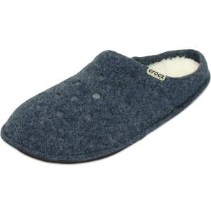 Classic Slipper Unisex Hauspantoffeln, nautical navy/oatmeal