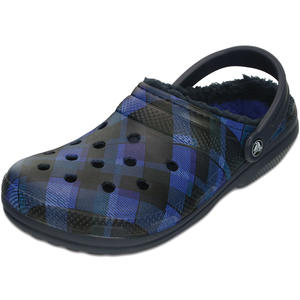 Classic Lined Graphic Unisex Clogs, navy/cerulean blue