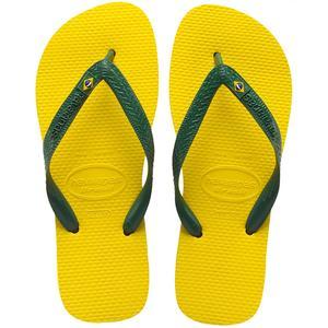 Brasil Unisex Zehenstegsandale, zitrusgelb (citrus yellow)