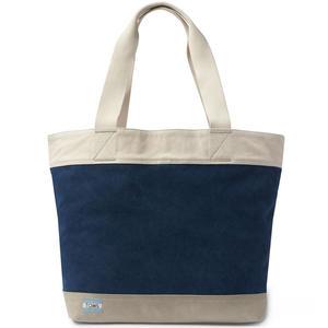Canvas Transport Tote Damen Shopper Tasche, dunkelblau (navy)