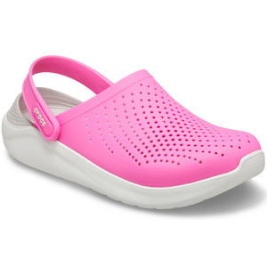 Literide Damen Soft Clogs, pink/weiß (electric pink/almost white)