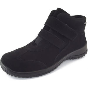 Gore-Tex Softboot Klett Damen Sneaker-Stiefel, schwarz
