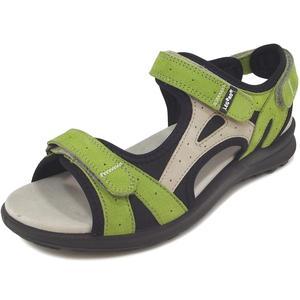 Siris Damen Sandale, grün/schwarz (kiwi-agave)