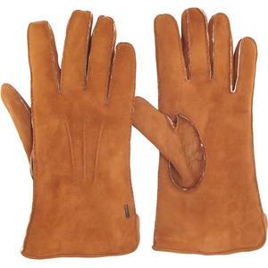 Carl Herren Lammfell-Handschuhe, chestnut