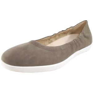 Maleo Damen Ballerina, taupe (grey)