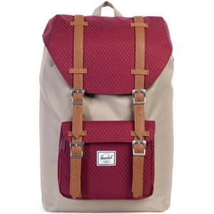 Little America Mid-Volume Unisex Rucksack, brindle/windsor wine