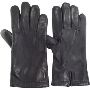 Dylan Herren Leder-Handschuhe, schwarz (black)