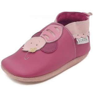 Bee Baby Krabbelschuhe, pink (bright pink)