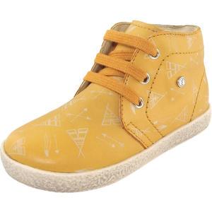 1195 Kleinkinder Schnürschuhe, gelb (mais)