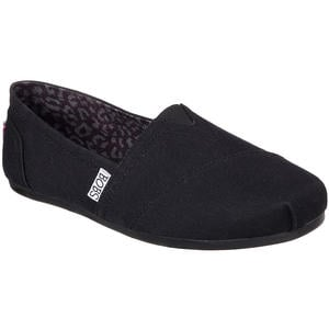 BOBS Plush Peace and Love Damen Espadrilles, schwarz (black)