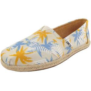 Classic Palm Rope Wm Damen Espadrilles, birke/gelb/blau (birch/tropical)