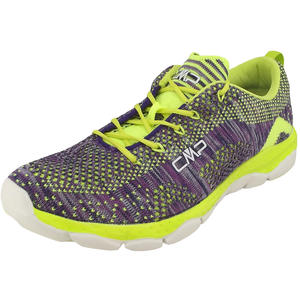 Butterfly Nebula Damen Fitness-Sneaker, violett/lime (malva/acido)