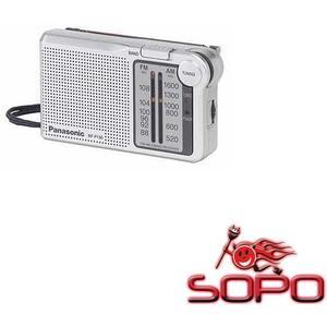Panasonic RF-P 150 EG9-S Silber Taschenradio