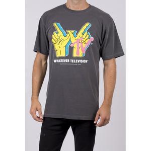 Neff T-Shirt Whatever Tv Wash Vintage Dye - S