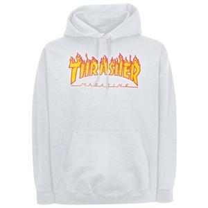 Thrasher Hooded-Sweat Flame