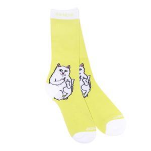 RipNdip Lord Nermal Socks - Neon Yellow