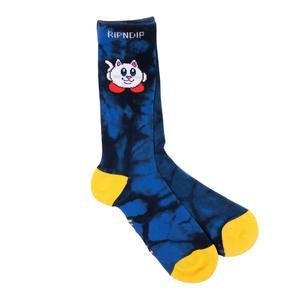 RipNdip Nermby Socks - Blue Lightning