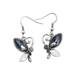 Intrigue Ohrringe Damen Ohrhänger schwarz