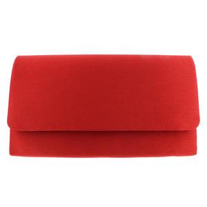 AZone Damen Clutch rot Abendtasche Textil