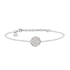 XENOX Schmuck Damen Armband Blume des Lebens 925 Silber