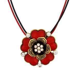 Trachtenschmuck Halskette Blume