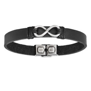Xenox Herren Armbänder for Men Schwarz X2645