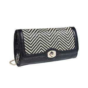 Kaytie Wu Damen Handtasche Schwarz 70588