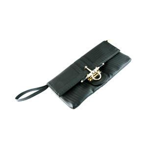 Intrigue Damen Handtasche Schwarz 70081