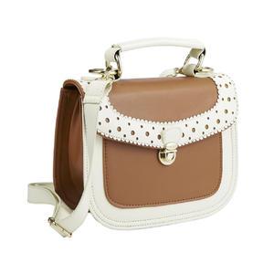 Intrigue Damen Handtasche Hellbraun 70565