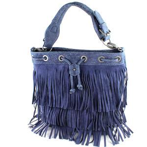 Fritzi aus Preußen Damen Tasche dunkelblau Tilde Kuba Jeans