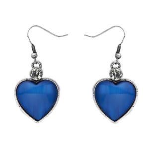 Intrigue Ohrringe Damen Ohrhänger blau