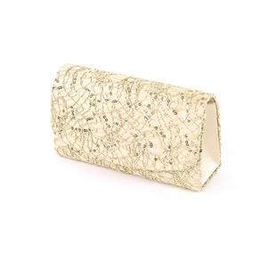 AZone Damen Abendtasche Clutch gold 1000063301