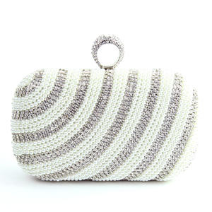 A-Zone Damen Clutch silber