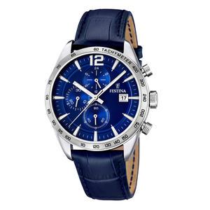 Festina Herren Armbanduhr Sport Chronograph Blau F16760/3