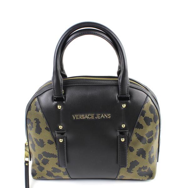Versace Jeans Damen Handtasche Schwarz
