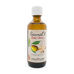 SaunaÖl 100ml - Zirbe & Zitrone - ZirbenFamilie