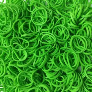 Rainbow Loom® Gummibänder Limettengrün