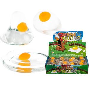 Cooles Splat Egg / Rohes Ei zum Werfen, Drücken, Spielen