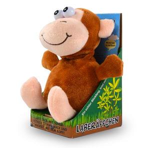 Laber-Affe, sprechendes Kuscheltier