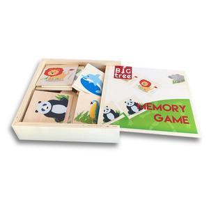 Holz-Memory: Safari, 16 Teile