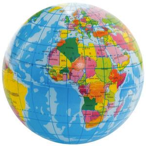 Erde zum Drücken, Werfen, Spielen, Lernen - Foam Earth Ball