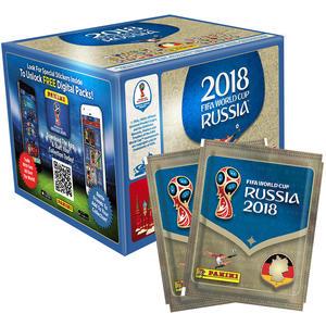Panini Sticker WM 2018 Mega-Box (500 Sticker)